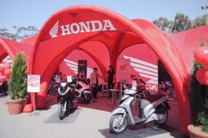 Honda mótorhjól